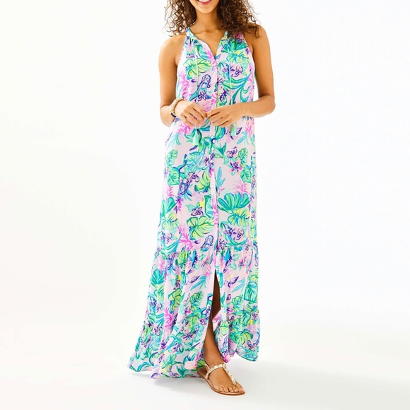 Lilly Pulitzer Dresses & Skirts - Lilly Pulitzer Luliana Maxi Dress